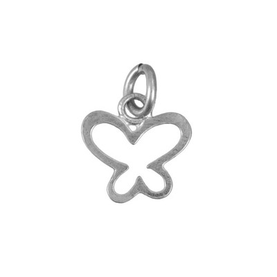 Silver Charm showing Happy Butterfly
