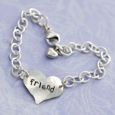 Heart On Your Wrist Friend Bracelet