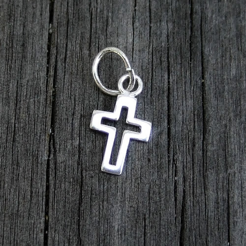 Cut-out Sterling Cross