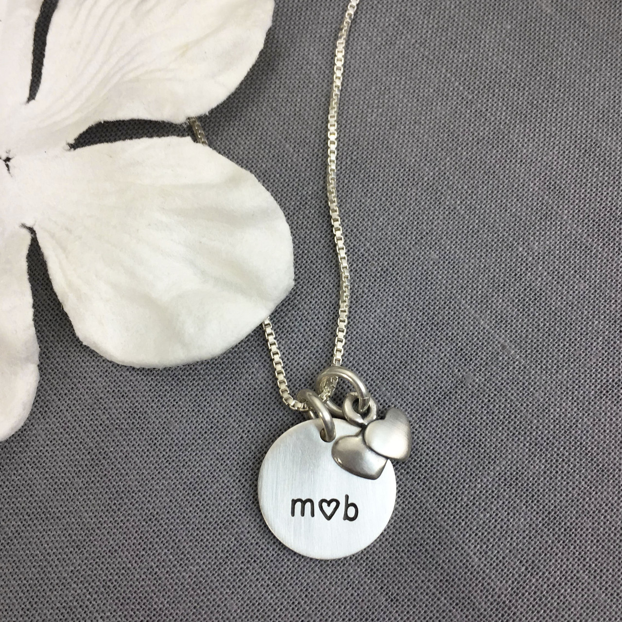 You and Me Engagement Necklace