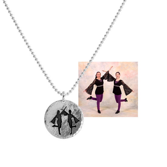 Photo Silhouette Pendant