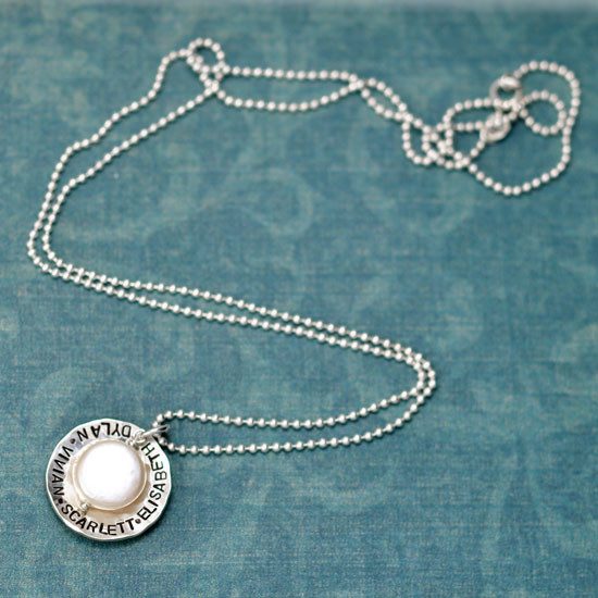 Pearly Treasure Necklace