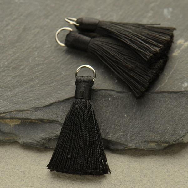 black tassle