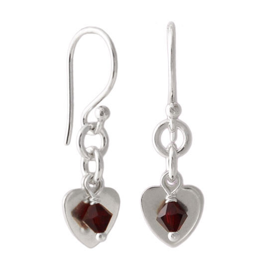Playful Heart Earrings