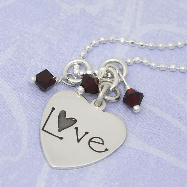 Playful Love Necklace