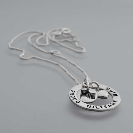 Proud Circle of Love Necklace