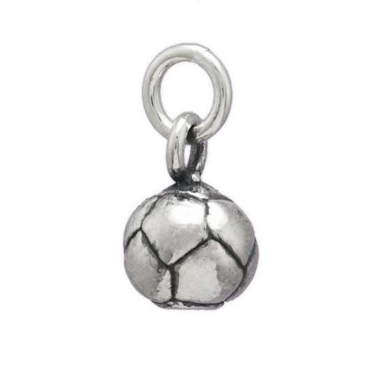 Round Soccer Ball Charm