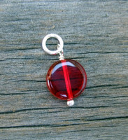 Ruby Coin Bead (July)
