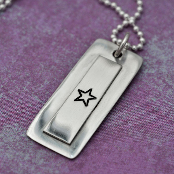 Service Flag Necklace