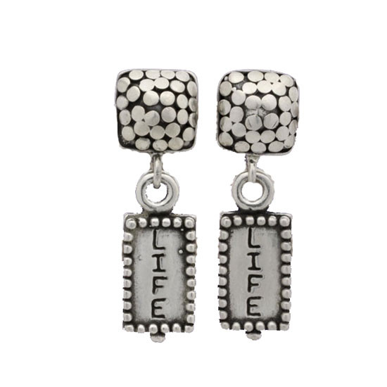 Simple Life Earrings <font color=red>- SALE</font>