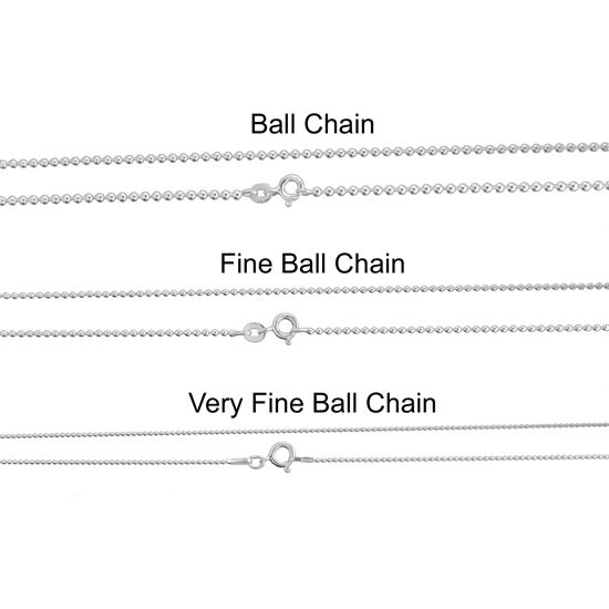 Sterling Ball Chain