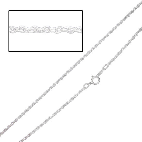 Sterling Dainty Cable Chain