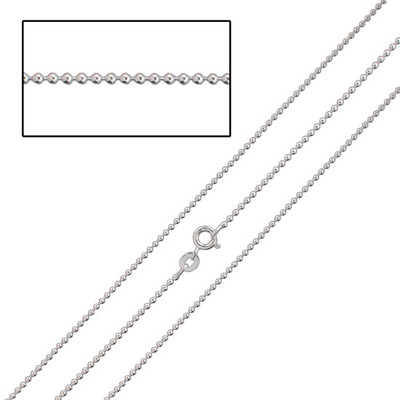 Sterling Fine Ball Chain