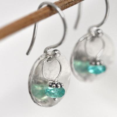 Sweet Blue Earrings