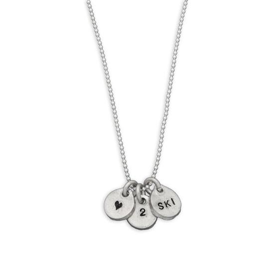 Three Tiny Nuggets Necklace