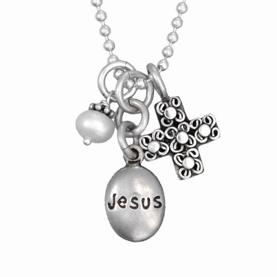 Jesus necklace