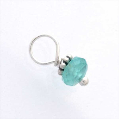 Tiny Sea Green Apatite Stone (Dec)