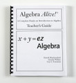 Algebra Teacher's Guide (x variable)