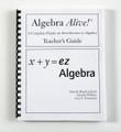 Algebra Teacher's Guide (x variable)