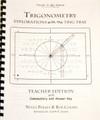 Trig Tray Teacher's Guide