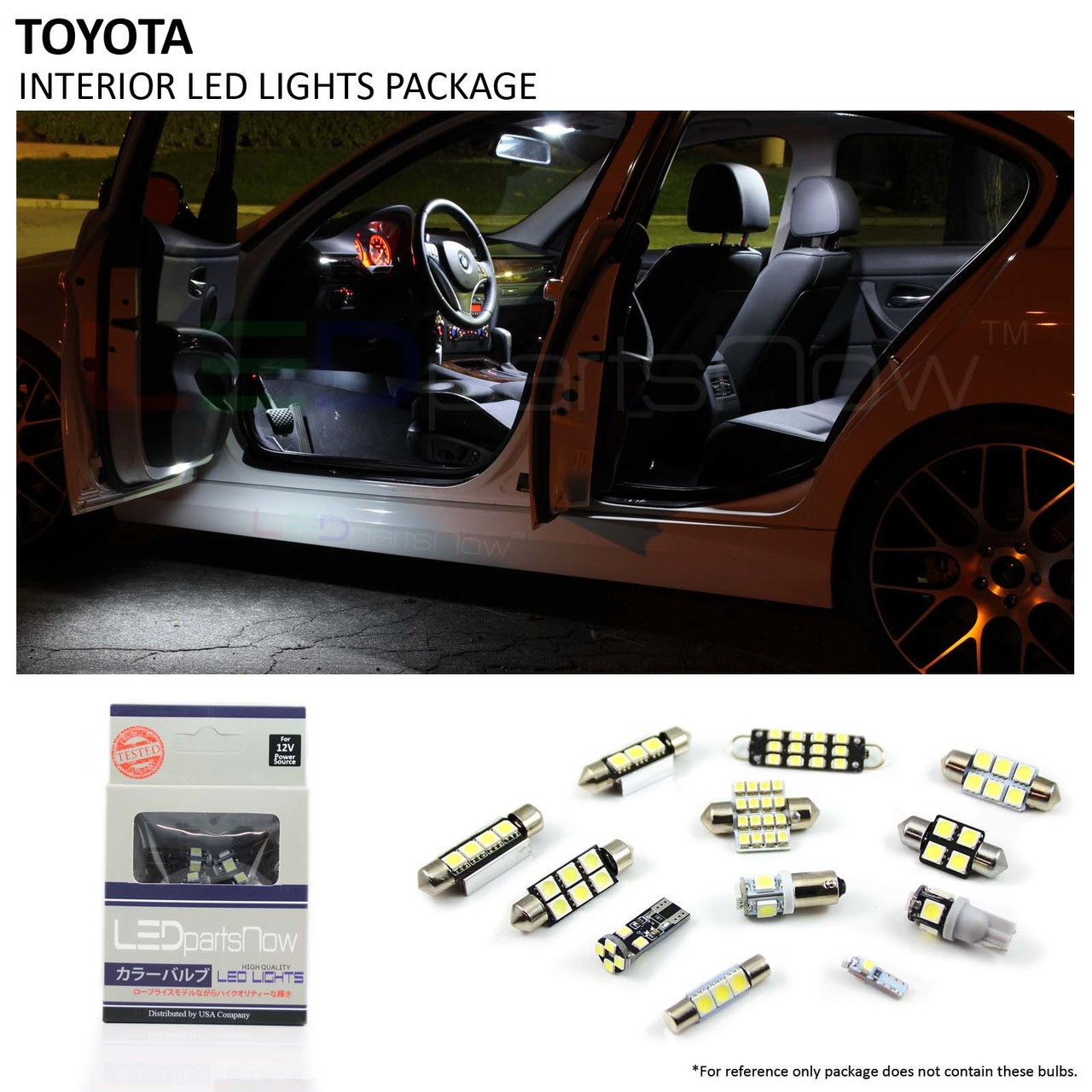 2012 2014 Toyota Camry Interior Led Lights Package