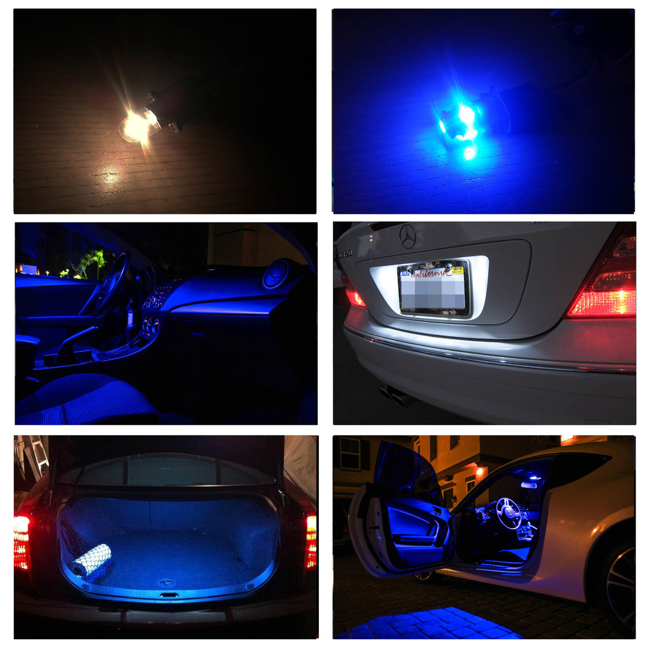 Larger / More Photos & 2009-2014 Ford F-150 F150 Interior LED Lights Package