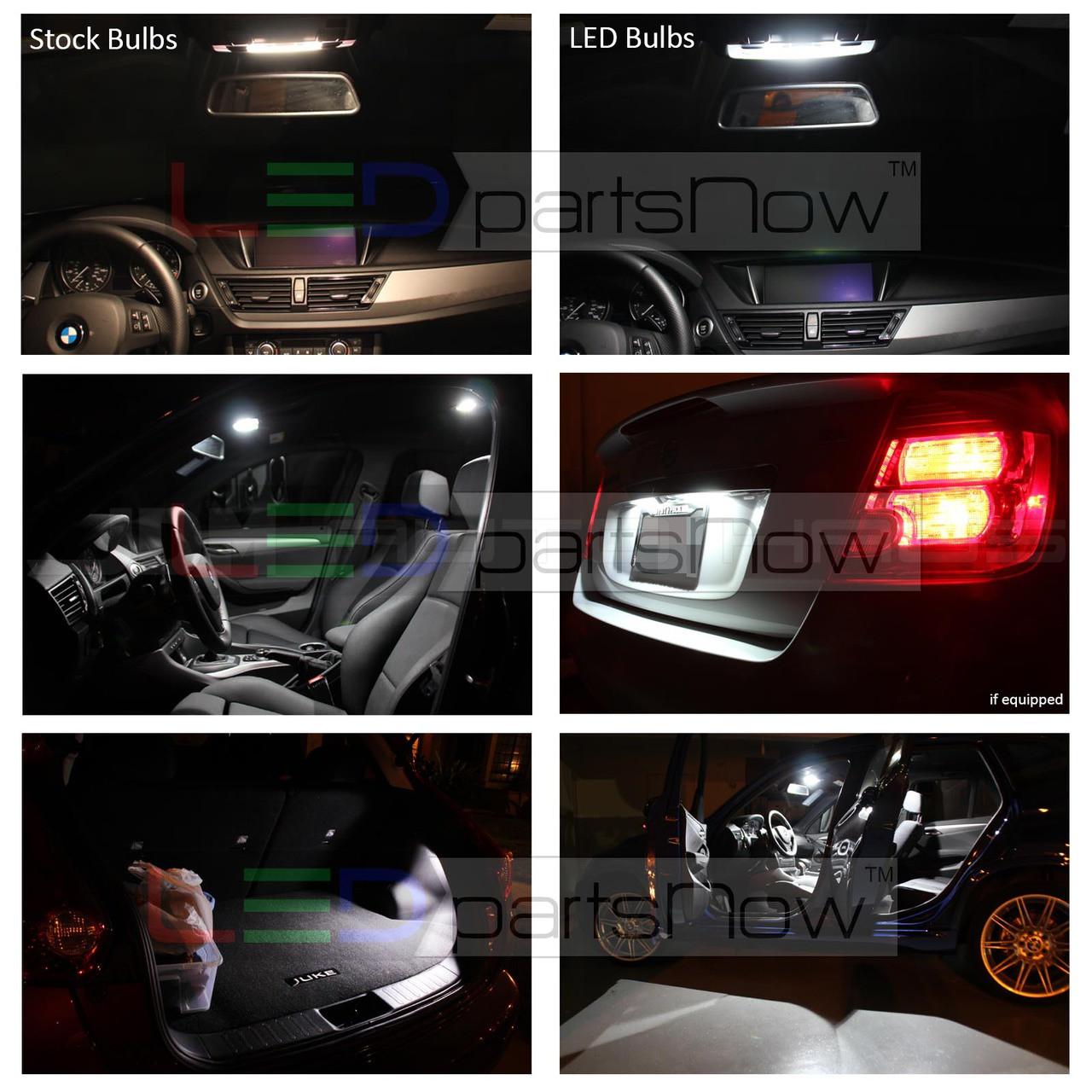 2007 2014 Jeep Wrangler Jk Interior Led Lights Package Light Bulbs