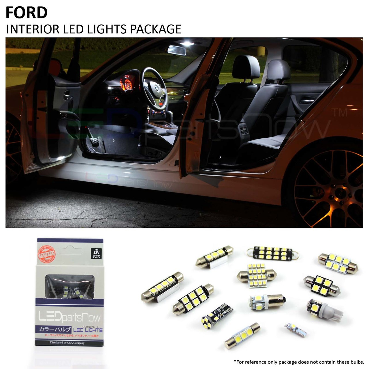 2010 2014 Ford Fusion Interior Led Lights Package