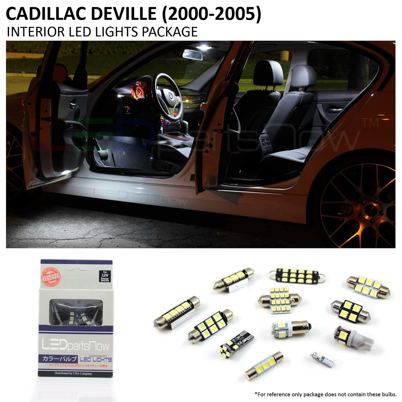 2000 2005 Cadillac Deville Interior Led Lights Package