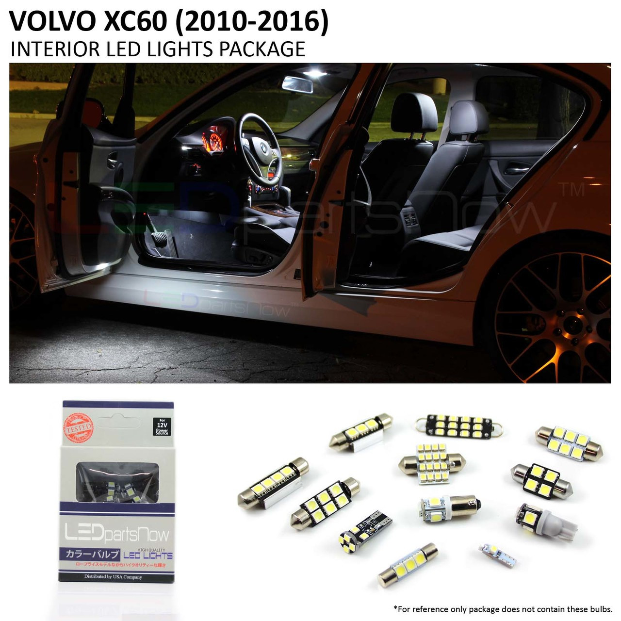 2010 2016 Volvo Xc60 Interior Led Lights Package