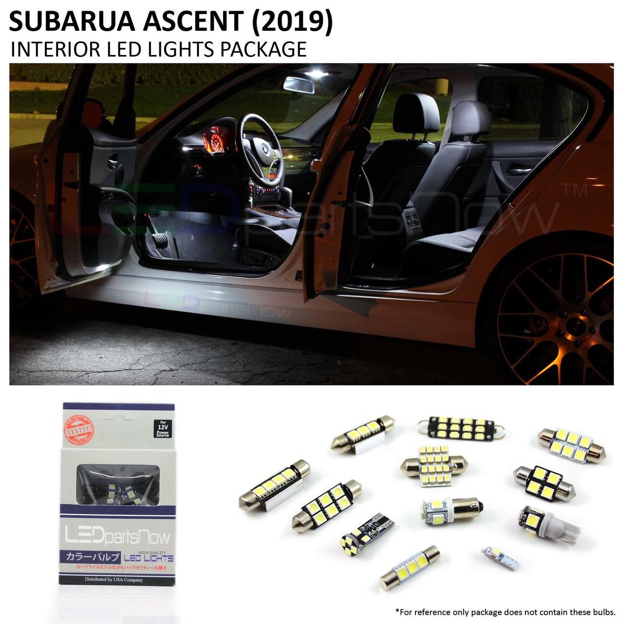 2019 Subaru Ascent Interior LED Lights Package