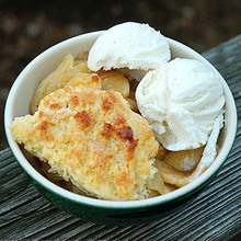 Boston Apple Cobbler