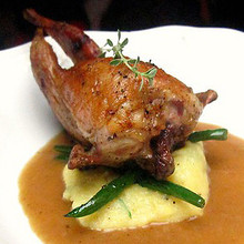 Quails Stuffed with Foie Gras