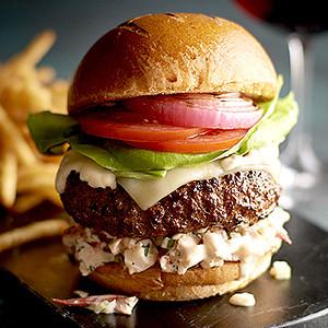 Ralph Lauren Steakhouse Burger
