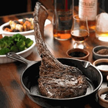 Behold the Dry Aged 40 oz Tomahawk
