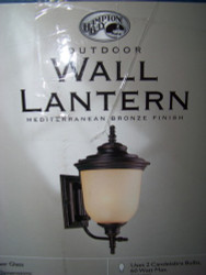 Hampton Bay Outdoor Light Wall Lantern 253536
