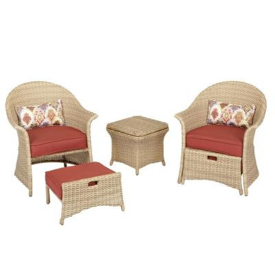 Image 1  sc 1 st  The Open Box Shop & Galesburg 5-Piece Cafe Patio Set - The Open Box Shop