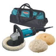 Makita  7-Inch Hook and Loop Electronic Polisher-Sander with Polishing Kit