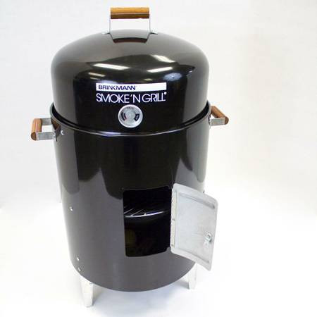 Brinkmann Smoke N Grill Charcoal Smoker And Grill The Open Box Shop