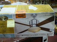 Hampton Bay Alida 52 in. Liquid Nickel Ceiling Fan #J010