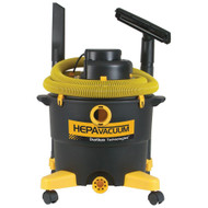 Dustless Technologies 16 Gal. HEPA Wet+Dry Vacuum