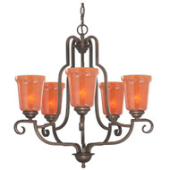 Hampton Bay Aspen 5 light chandelier