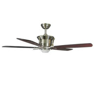 Hampton Bay Sabitini 52 in. Indoor Brushed Nickel Ceiling Fan