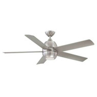 Hampton Bay Greco II 52 in. Brushed Nickel LED Ceiling Fan