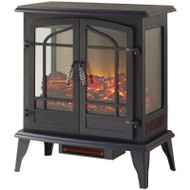 Legacy 1,000 sq. ft. 25 in. Panoramic Electric Stove with Remote