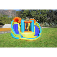 Sportspower My 1st Water Slide Double Water Slide with Bounce House