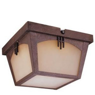 Hampton Bay Flush-Mount Outdoor Regency Bronze Lantern