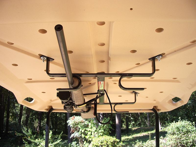 Golf Cart Overhead Gun Bow Roof Rack