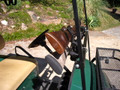 Same gun and bow rack that the Ezgo golf carts use to extends WIDER