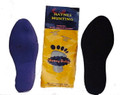 (12) Foot Odor and Perspiration Controlling Shoe or Boot Inserts